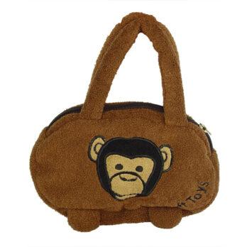 Schimpansen Handtasche mit Aufdruck