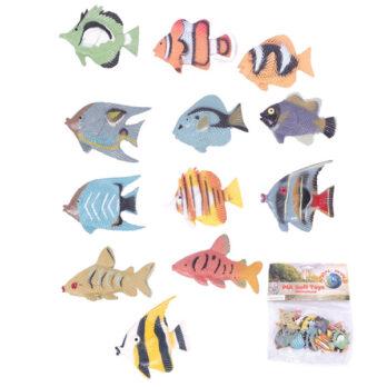 Tropische Fische im Beutel