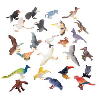 Vögel in Sturzbeutel