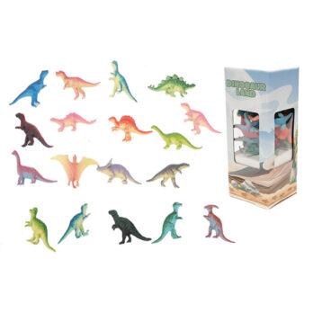 Dinosaurier im Karton