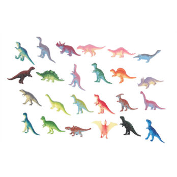Dinosaurier in Sturzbeutel