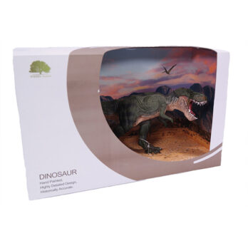 Grüner Tyrannosaurus Showbox