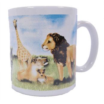 Wilde Tiere Tasse