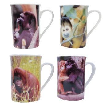 Affen Tassen