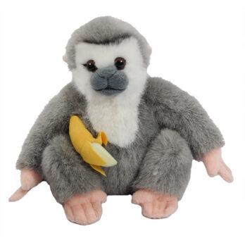 Gibbon mit Banane