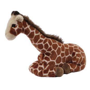 Liegende Giraffe