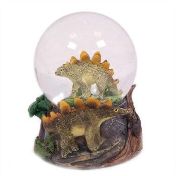 Stegosaurus Schneekugel