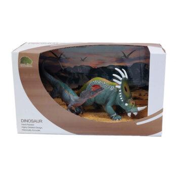 T-Rex – Styracosaurus set im Schaukarton