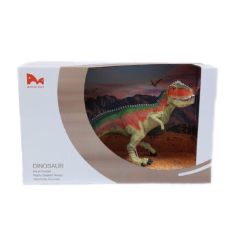 T-Rex im Schaukarton