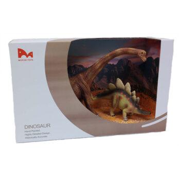 Brachiosaurus – Stegosaurus in Schaukarton