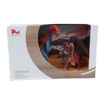 Theresinosaurus – Pentaceratops Set im Schaukarton