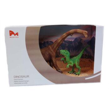 Brachiosaurus – T-Rex im Schaukarton