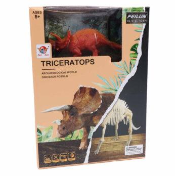 Archäologische Ausgrabung Triceratops