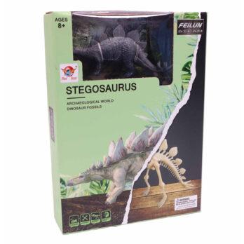 Archäologische Ausgrabung Stegosaurus